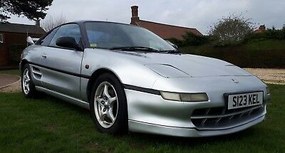 Toyota MR2 mk2 GT Coupe 2.0 1998 Rare Silver & Black 2-seater T-bar T&T