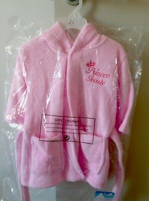 Baby Girl dressing Gown Pink 12-18 months NEW with tags