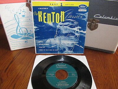 A Collection of STAN KENTON Classics Rare 45 EP W/Ps 1953 Capitol Beauty!