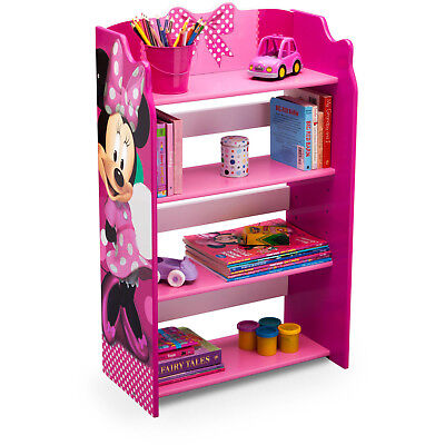 Disney Bookshelf toy Organizer Minnie Mouse Kid Cubby Book Bin Storage Shelves  sc 1 st  PicClick : kids bookshelf and toy storage  - Aquiesqueretaro.Com
