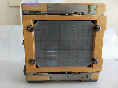 Chamonix 45N-1 4x5 Field Camera Body in Maple and Gray Finish +Wrap