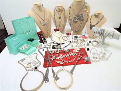 Huge Vintage Designer*sterling*gorgeous Estate Silver Lining Jewelry Lot!