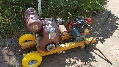 BSA 420cc Engines and compressor