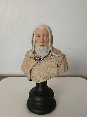 Herr der Ringe LOTR Sideshow Weta Limited Edition Gandalf the White Büste