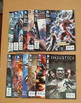 Injustice Gods Among Us #1-12 Annual Year One Taylor DC Comic Book VF+-NM