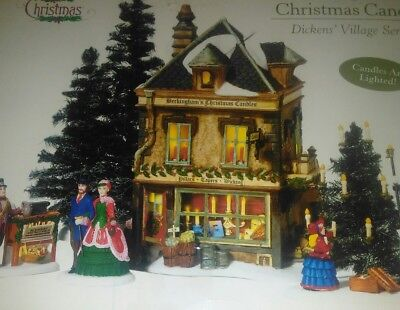 Beckingham's Christmas Candles Dept. 56 Dickens Village Lighted Victorian Snow