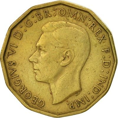 1937-1952 Brass Threepence George Vi. Choose Your Date!     One Coin/Buy!   #2