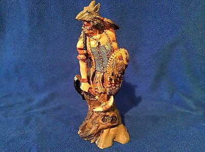Old West Visions Limited Edition Indian Sculpture