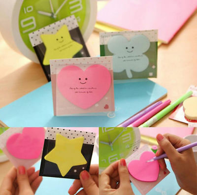 Sticky Notes Notebook Memo Pad Bookmark Paper Sticker Notepad Student Stationery