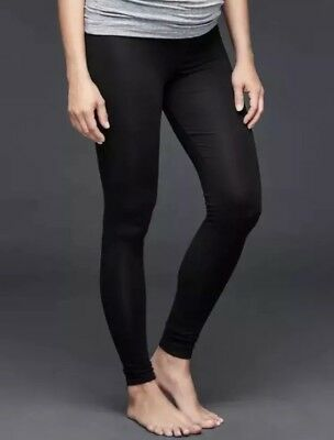 New with tags Gap Maternity Pure Body X-SMALL full panel  leggings Black