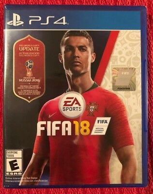 NEW PS4 FIFA 18 UPDATED WORLD CUP EDITION Russia 2018 Sony PlayStation 4 SEALED