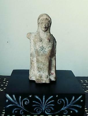"Archaic Greek votive figurine 4.5"", c 800-480 BC"