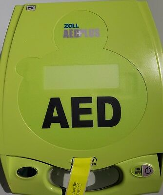 Zoll AED Plus Defibrillator Automatic External w/ Pads, Face Shield & Batteries