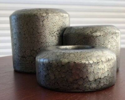 PARTYLITE STEPPING STONES 3-piece Tealight Candle Holder Set P7168 Mint in Box