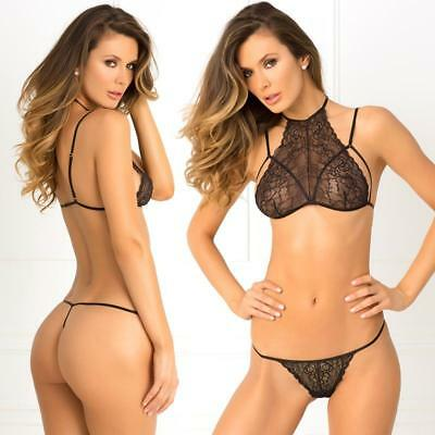 2e16fda2260d9 RENE ROFE 532130 Most Wanted 2 Piece Bra and G-String Set -  9.95 ...