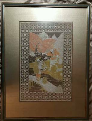 Antique Chinese Kesi Silk Embroidery Panel