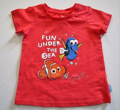 Disney Baby Finding Dory Girls Cotton Short Sleeve T-Shirt Select Size New
