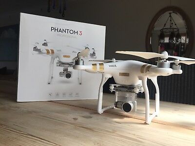 DJI Phantom 3 Professional Quadcopter Drone plus EXTRAS -4K UHD Video Camera RTF