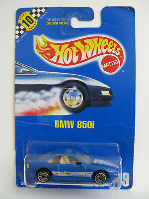 HOT WHEELS 1991 ULTRA HOT UH - BMW 851i BLUE CARD COLLECTOR