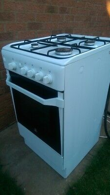 INDESIT CUCINA IS50G(W) Gas Cooker Freestanding White - £75.00 ...