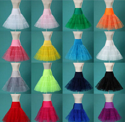 "2018 50s Vintage Petticoat 26"" Retro Rockabilly Underskirt /Fancy Net Skirts hot"