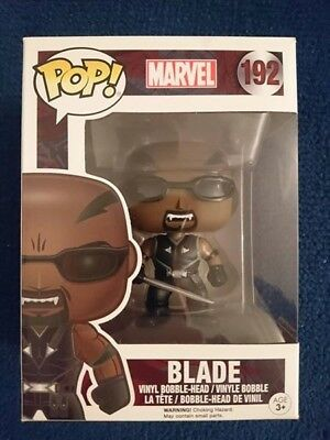 Blade Vampire Hunter Daywalker POP! Marvel #192 Vinyl Figur Funko