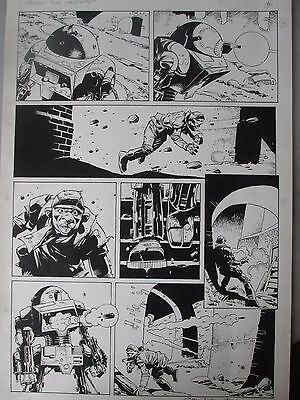 2000AD Judge Dredd Original Art by Cam Kennedy