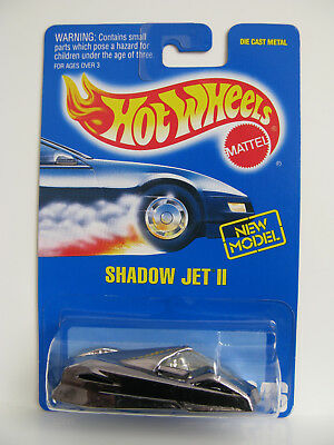 Hot Wheels 1994 - Shadow Jet 2 Blue Card Collector