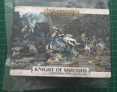 warhammer age of  sigmar Knight of Shrouds on Ethereal Steed