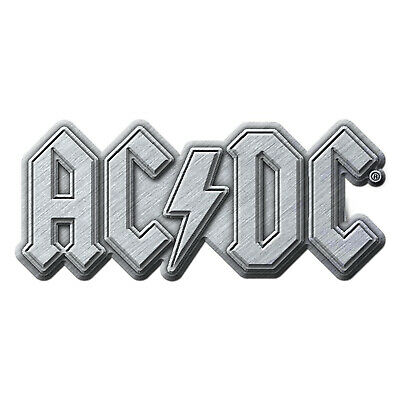 AC/DC Logo Metal Pin Button Badge Official Rock Band Merch