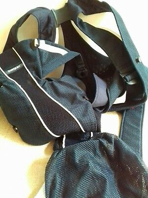 Baby Bjorn Baby Carrier Navy Blue mesh Excellent condition