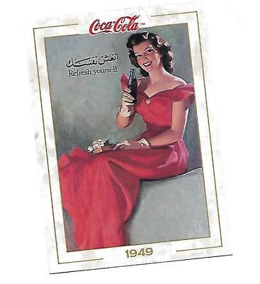 Coca Cola Collection (1993) 1949 # 52 REFRESH YOURSELF Worldwide Growth