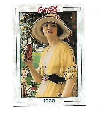 Coca Cola Collection Series 2 (1994) 1920 # 145 Garden Girl Wide Brimmed Hat