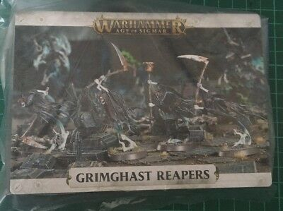 Warhammer Age of Sigmar Grimghast Reapers x4