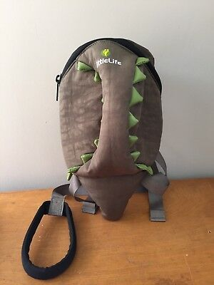 Little Life Toddler Backpack With Reins Dinosaur