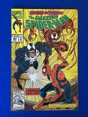 Amazing Spiderman 362 VG 2nd app of CARNAGE!!!