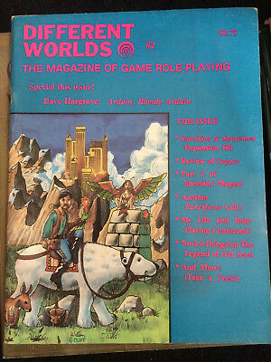 Different Worlds #2 the magazine of game roleplaying