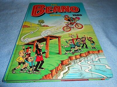 Vintage UK Annual - THE BEANO BOOK - 1986