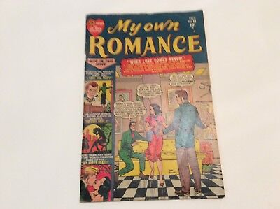 My Own Romance- Vol.1 No.18 Sept.1951 By Marjean Mag.- Signed Joe Maredy
