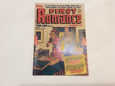 First Romance Magazine- Vol.1 No.9 Oct.1951- By Harvey Publications-