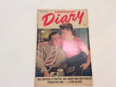 Sweetheart Diary- Vol.1 No.10 May 1952- By Fawcett Publications