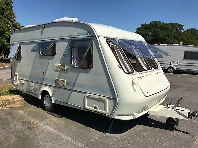 Year 1992 4 Berth Craftsman Caravan with Full Awning and Equipment
