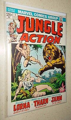 Jungle Action #1 VF- Marvel 1st Issue! Lorna Tharn Jann Black Panther
