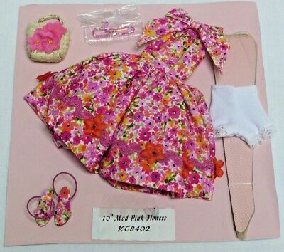 """Robert Tonner 10"""" Tiny Kitty Outfit """"Mod Pink Flowers"""" 2004"""