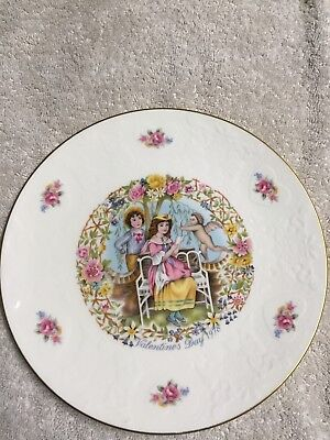 "Royal Doulton My Valentine 8.25"" Collector Plate"