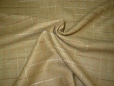 BTY~FABRICUT~WOOL SILK BLEND WEAVER CHOCO~DRAPERY UPHOLSTERY FABRIC FOR LESS~