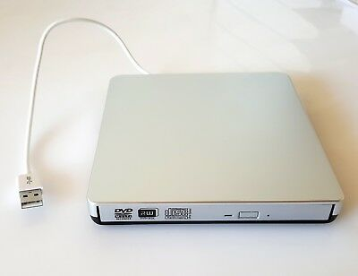 USB Extern CD-RW DVD±RW Brenner Slim Laufwerk Portable Brenner LAPTOP Videos