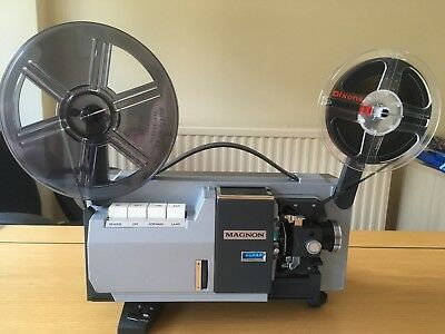 Vintage Prinz Magnon Duo Std 8mm Super 8 Zoom Cine Projector. Immaculate