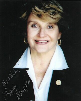 U.S. Congresswoman Louise Slaughter New York Signed 8x10