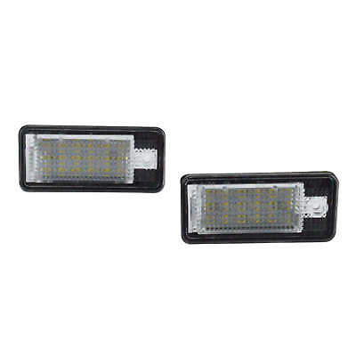 Audi A3 8P A4 S4 B6 B7 A6 4F A8 4E 4H Q7 4L LED License Number Plate Light